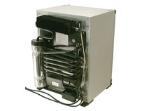 Auto Kühlschrank 12v : Camping kühlschrank silber grau 12v 240v 35 liter h: 51cm b: 38cm