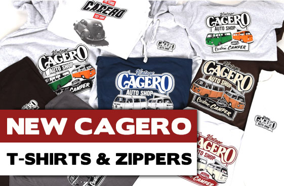 NEW CAGERO T-SHIRTS & ZIP HOODIES