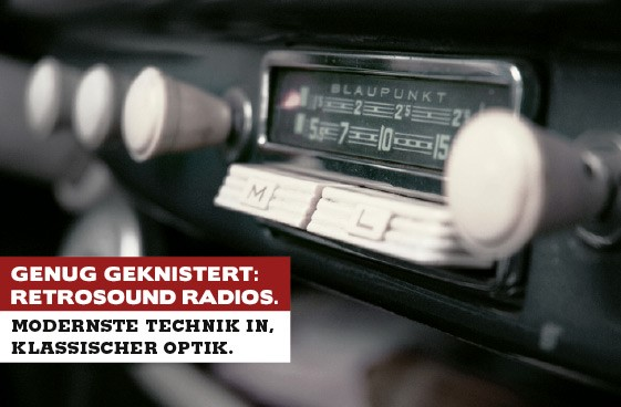 Retro Sound Radio, alter Look neuer Sound